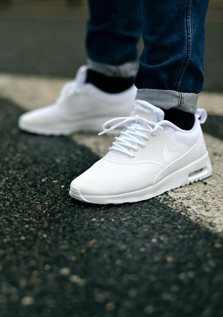 Ultra Clean Nike Air Max Thea All White Style