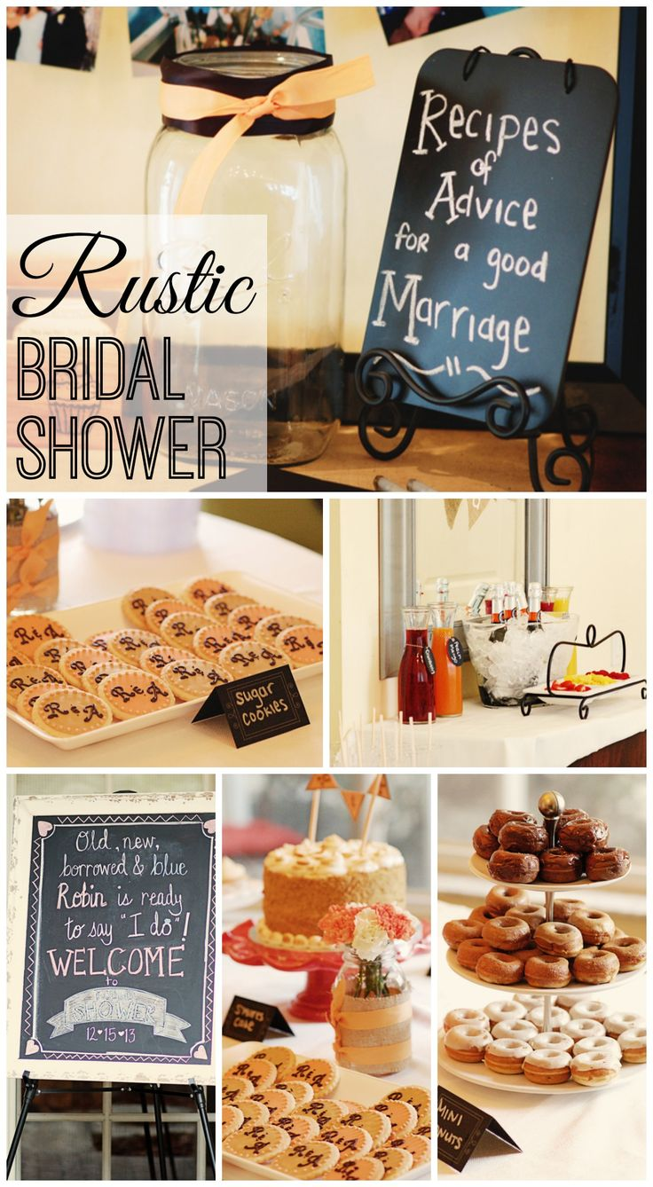 "Pretty Rustic / Bridal/Wedding Shower ""Mimosa Bar Brunch Shower"" 