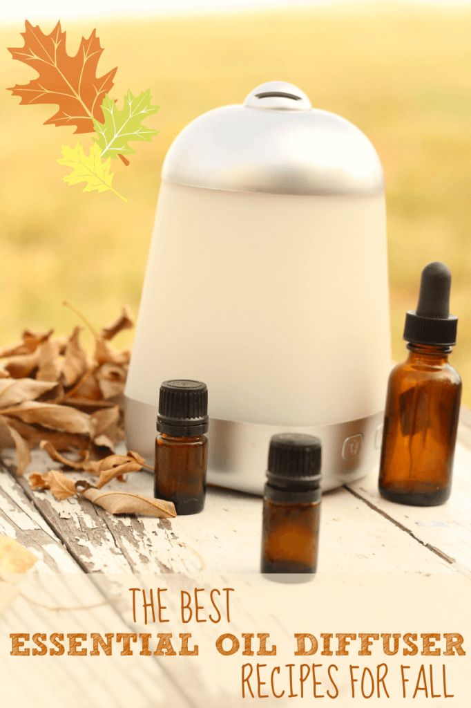 the best collection of essential oil diffuser recipes for fall: spiced chai, immune booster, and more!