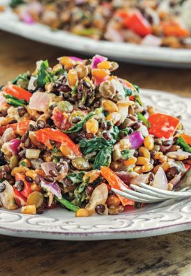 Protein Power Recipes: Goddess Bowl - Your Healthy Living  Recipe taken from The Oh She Glows Cookbook by Angela Liddon (£16.99, Penguin Random House).