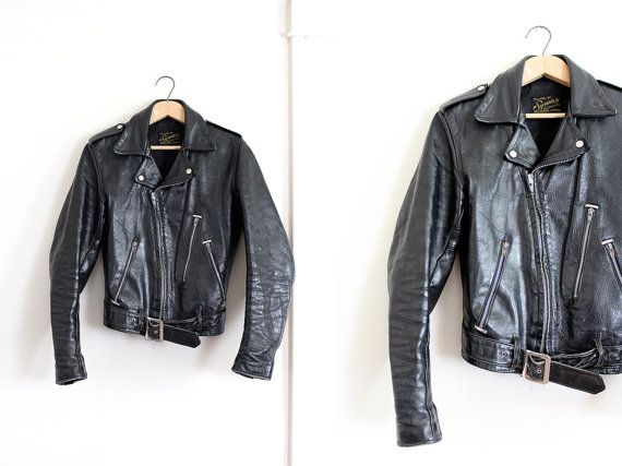 1960s leather jacket