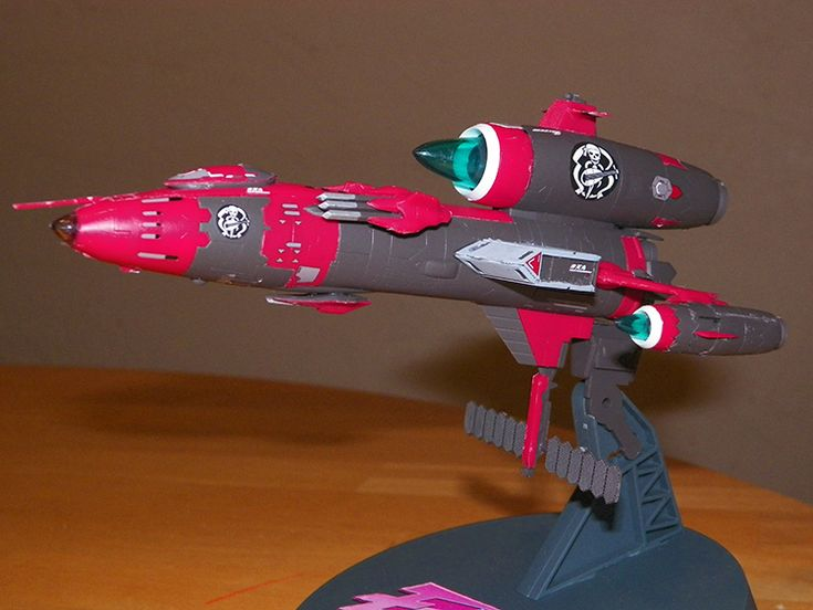 Model of the Bentenmaru from Bodacious Space Pirates.