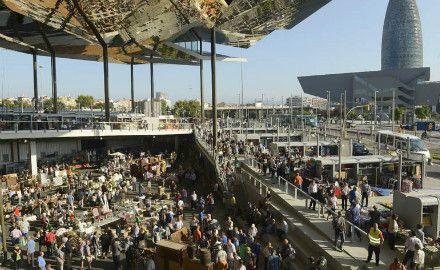 Mercat dels Encants  - Marchés de Barcelone - Destination Barcelone
