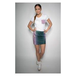 Gosia Strojek - cieniowana spódnica mini