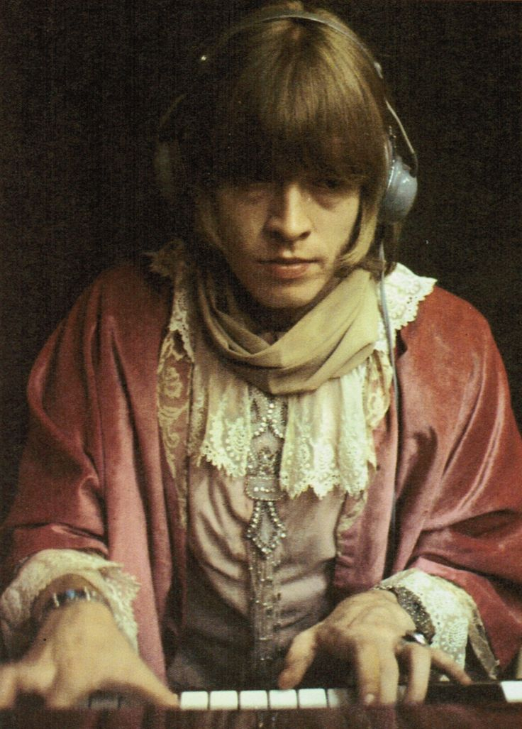 Brian during sessions for Their Satanic Majesties Request, 1967