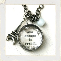 She dreams in French.: Cool Necklaces, Charm Necklaces, La France, Necklaces Particularly