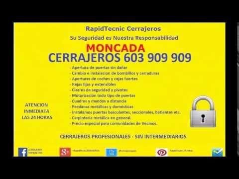 Cerrajeros #Moncada 603 909 909 económicos