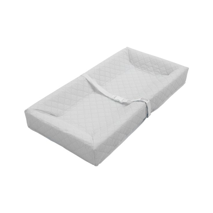 This 4-sided changing pad has four 4-inch-high sides to keep your baby safe. This changing pad features a non-skin bottom that prevents pad from sliding while you change your baby. Meets all Federal a