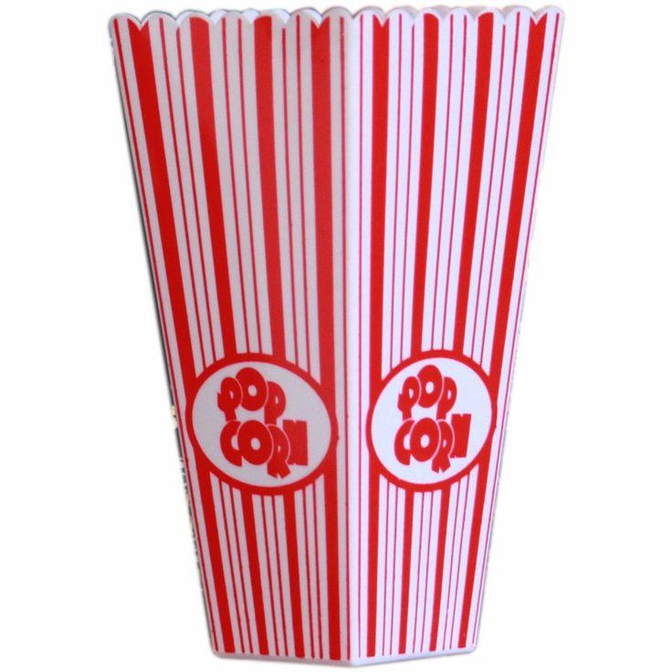 """VASO POCHOCLERO - Un """"Like"""" si vos también te comes todos los pochoclos antes de que empiece la película!"""