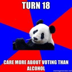 Fuck Yeah Political Science Student Panda