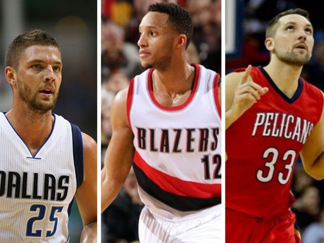 Chandler Parsons,Evan Turner,Ryan Anderson