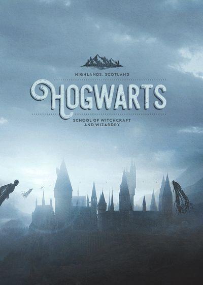 Harry Potter - Hogwarts gif