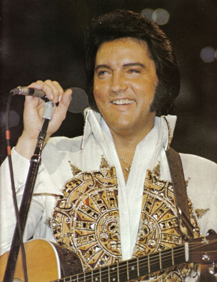 Elvis' last tour from June 1977 had many ups and downs, with some very good concerts and some of his worst. Two of the best were Rapid City on June 21st and Indianapolis on June 26th. / Photo here is from Omaha - June19, 1977