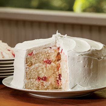 Impress your guests with this traditional Mary Todd Lincoln White Cake Recipe, which contains candied cherries and pineapple.