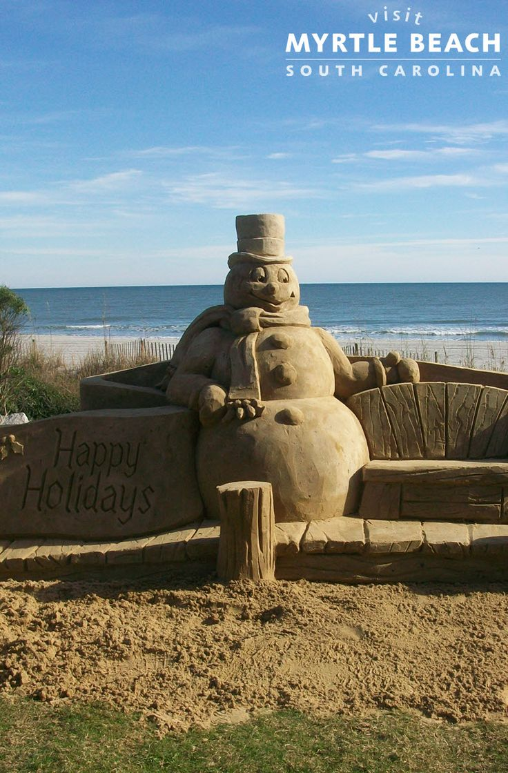 Leave the snow at home - spend this holiday season in Myrtle Beach! Take advantage of these holiday deals on premier Myrtle Beach accommodations - http://www.visitmyrtlebeach.com/hotels/deals/holiday/?cid=soc_post_pin_promo_60_days_holidays_110414!
