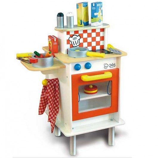 #cuisine en #bois pour #enfant - Cuisine Duo