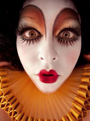 [  http://www.pinterest.com/toddrsmith/boo-who-adult-halloween-ideas/  ]  - clown makeup halloween