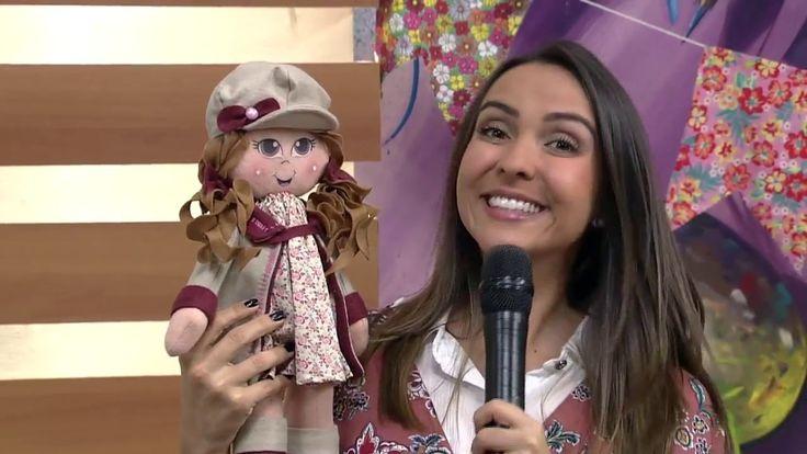 Boneca Laurinha em Feltro por Cláudia Crestani - 23/06/2017 - Mulher.com...