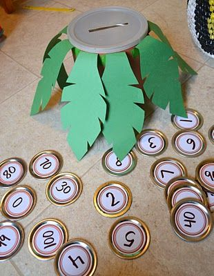 ...  chicka chicka preschool math   There's tons of fun activities out there for the Chicka Chicka books