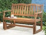 Another back door bench