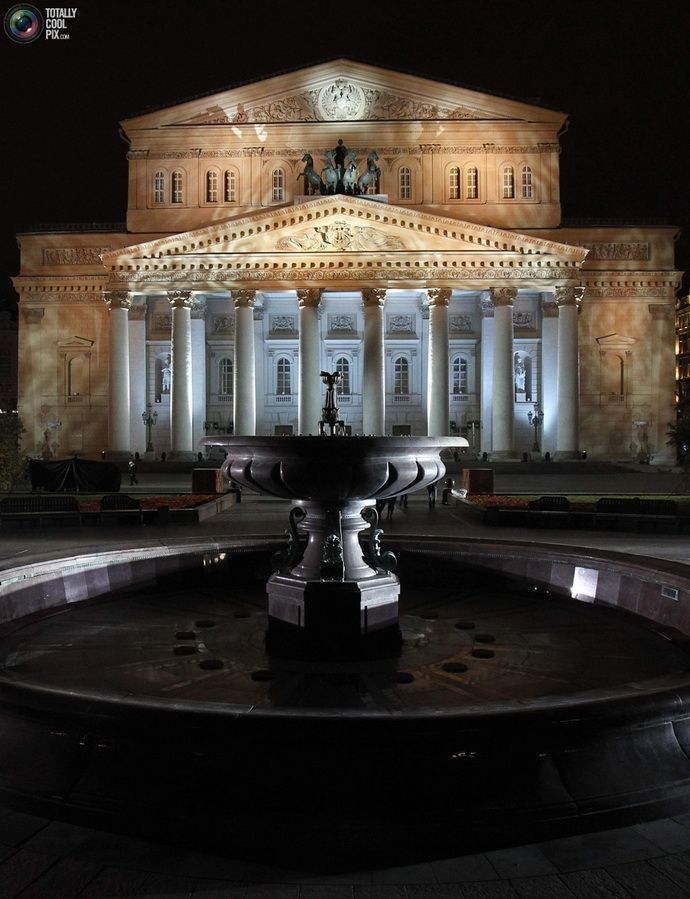 The Bolshoi Theater, Moscow....Saving my money for just to Nina Kaptsova. She is such a phenomenal ballerina....
