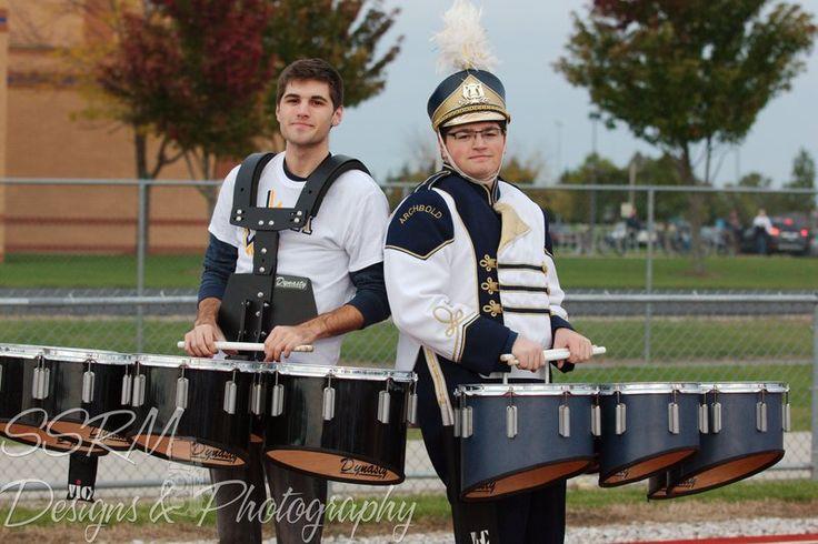 AHS Marching Bluestreaks & Alumni Homecoming 2014 Cale & Casen