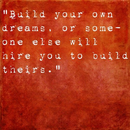 If You Decide Today To Make Your Dream House Or Get Your Dream Job Nothing  Is