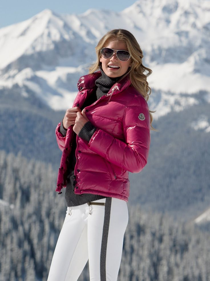 Downjacket fashion | Down Jacket - Moncler | Pinterest ...