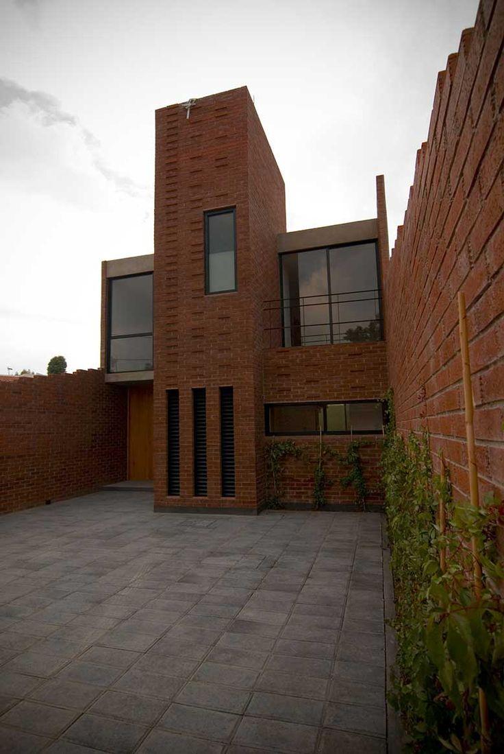 17 mejores ideas sobre fachada de ladrillo rojo en - Fachadas arquitectura ...