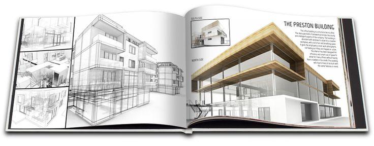 architecture professional portfolio layout - Google Search