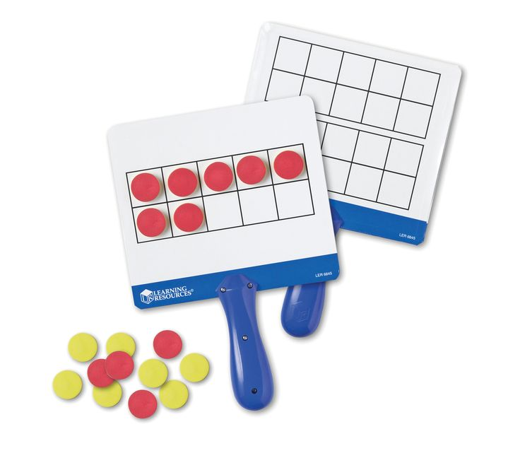 Learning Resources Magnetic Ten Frame Boards