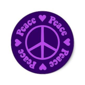 peace | Purple love, Peace, Purple lilac  |Peace And Love Purple
