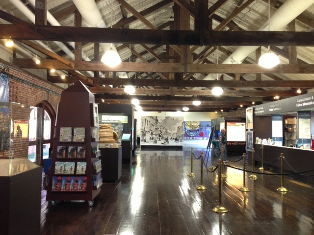 Our reception venue- The Charleston Visitor's Center! :D