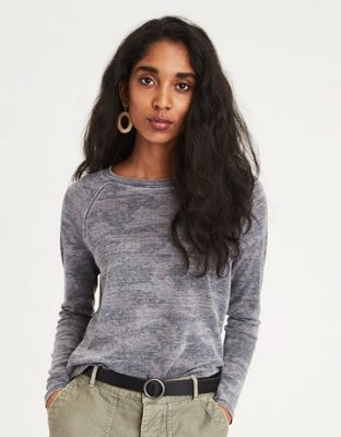 9924b7677 AE Long Sleeve Waffle T-Shirt by American Eagle Outfitters | Everybody  loves waffles. This waffle knit is no exception.Everybody loves waffles.