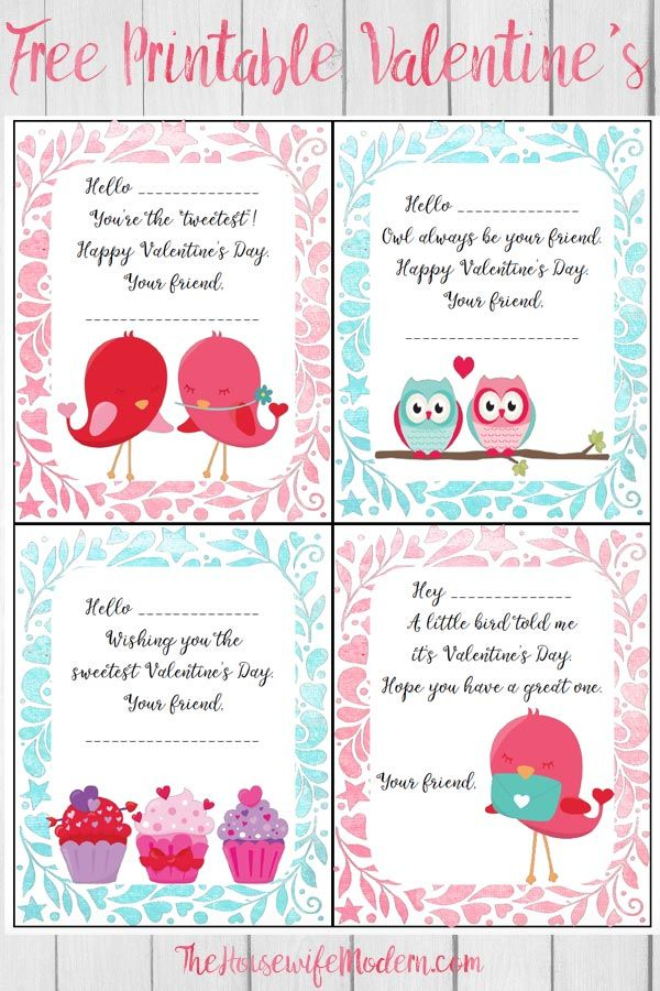 Free Printable Valentine S Day Cards For Kids Free Valentines Day Cards Valentine Day Cards Valentines Printables Free