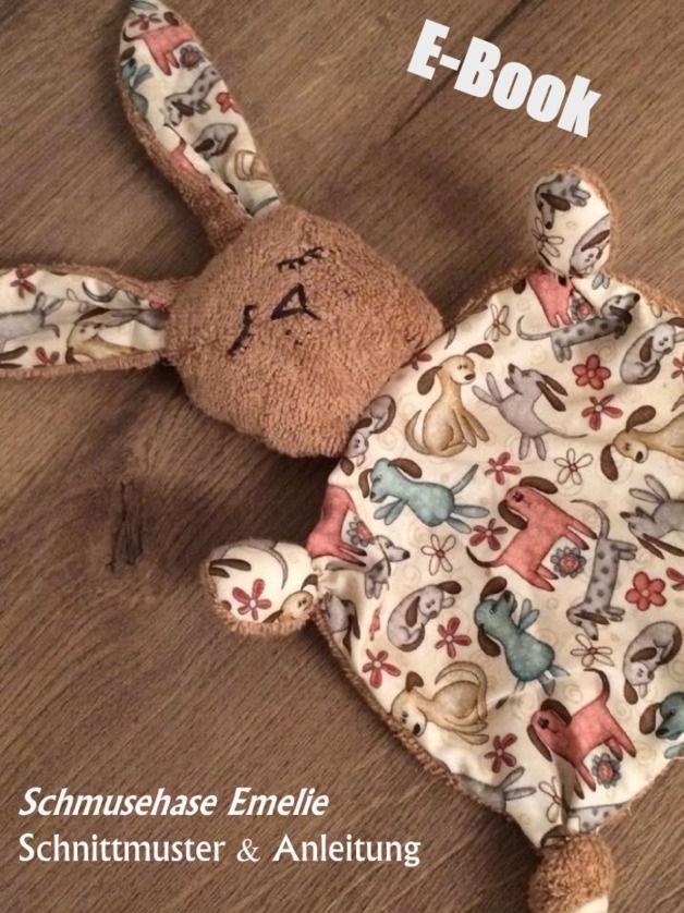 "Nähanleitung: Schmuse- und Kuschelhase ""Emelie"" nähen / sewing instruction: cuddly bunny ""Emelie"" by MonstaBella via DaWanda.com"