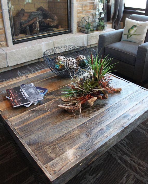 Reclaimed Wood Coffee Table Designs: Best 25+ Reclaimed Wood Coffee Table Ideas On Pinterest