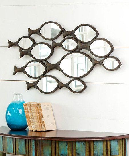 School of Fish Wall Mirror
