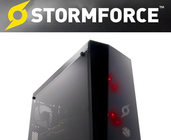 Prize Win A 1 600 00 Stormforce Gaming Pc Comprising A Cooler Master Masterbox Lite 5 Rgb Chassis Liquid Cooled Intel C Gaming Pc Cooler Master Graphic Card