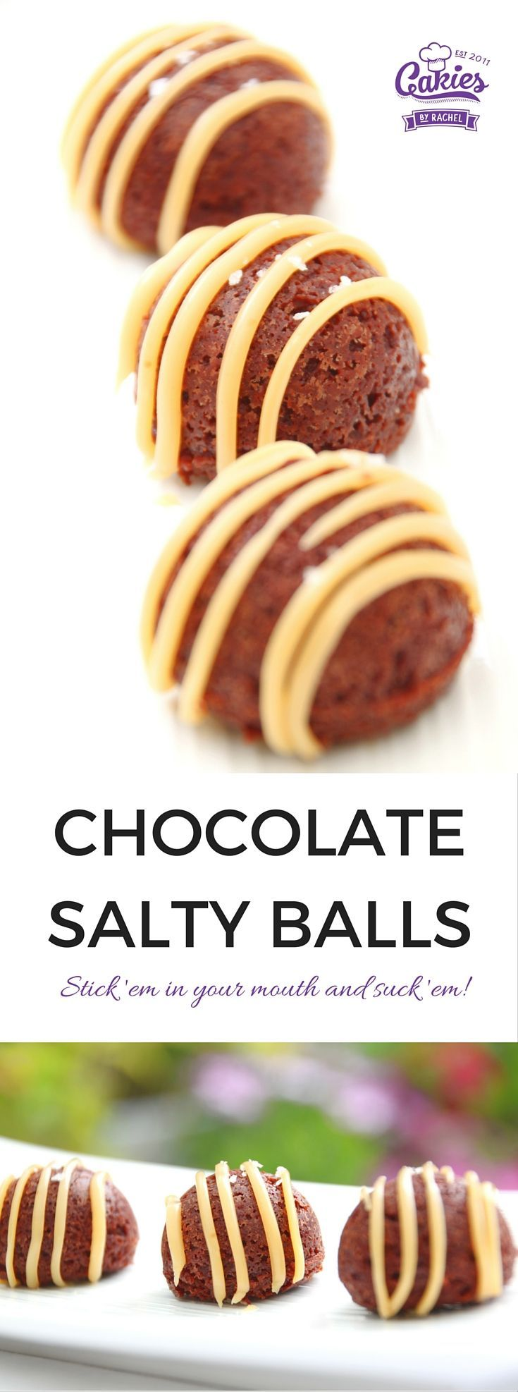 Chocolate Salty Balls recipe inspired by South Park Chef's song.   https://www.cakieshq.com/chocolate-salty-balls-recipe/