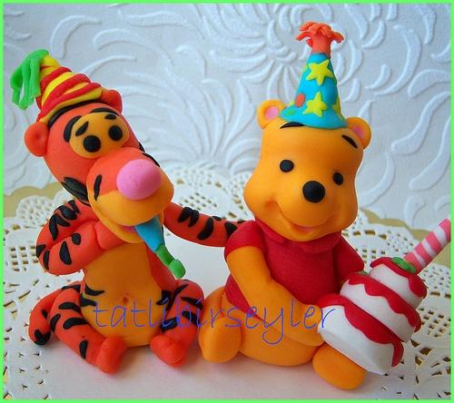 73 besten fondant gumpaste bilder auf pinterest for Winnie pooh kuchen deko