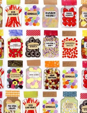 Candy Jars illustration