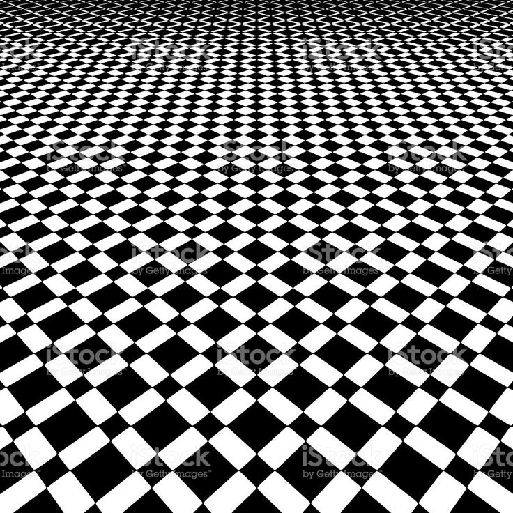 Checkered Background Pattern with Dramatic Perspective royalty-free stock vector art