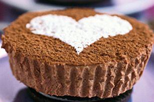 PHILADELPHIA Chocolate Cheesecakes for Two