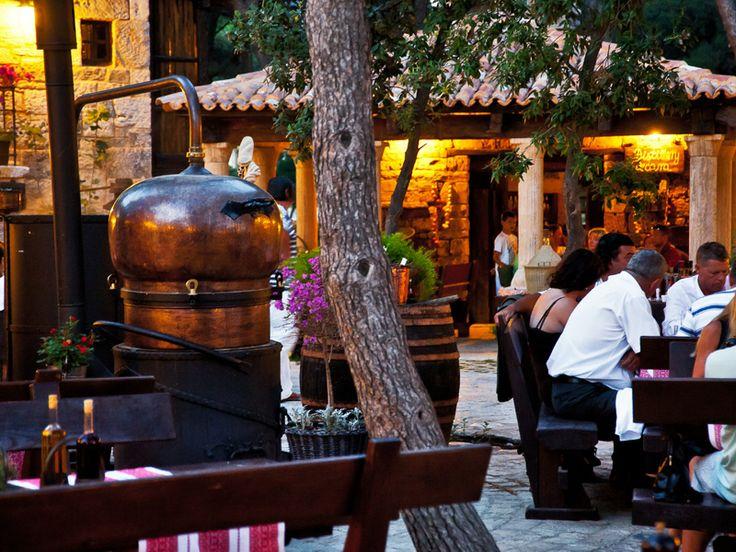 Dalmatian Ethno Village Happy Machine for #Brandy production