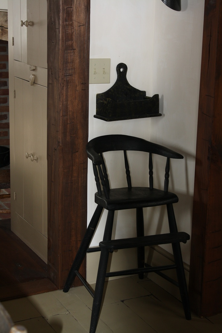 Antique high chair bentwood - Antique High Chair