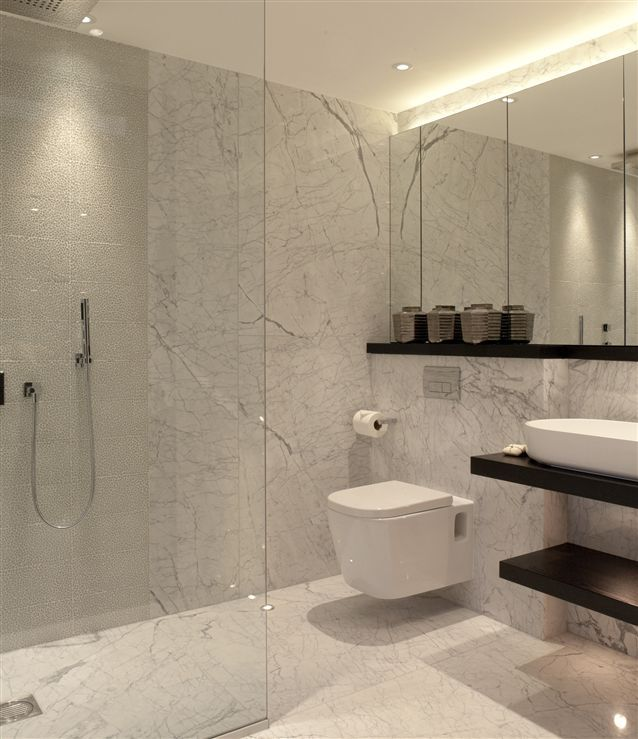 78 Best Images About Bathroom On Pinterest Master Bath Iridescent Tile And Vanities