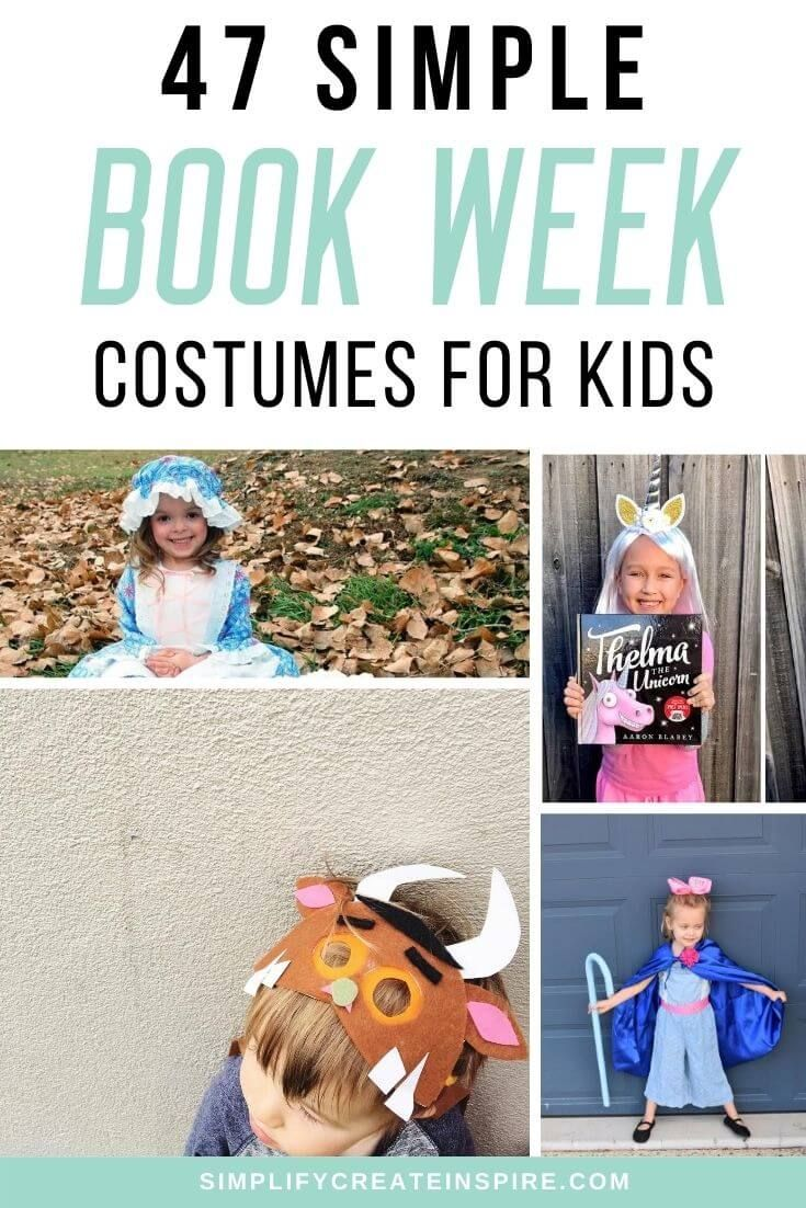 49 Simple Book Week Costume Ideas For 2020 In 2020 Book Week Costume Easy Book Week Costumes Book Week
