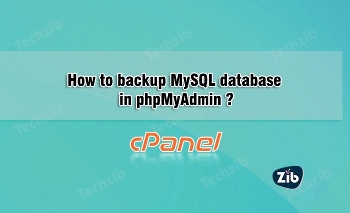SQL stands for standard query language which is usually used to communicate with the database. SQL database is generally used for the relational database management system i.e. RDBMS. It is dynamically scalable and supports existing SQL libraries, tools and API's. SQL database is used by any big organizations like IBM and Microsoft. SQL database is The post How to backup MySQL database in phpMyAdmin appeared first on TechZib.