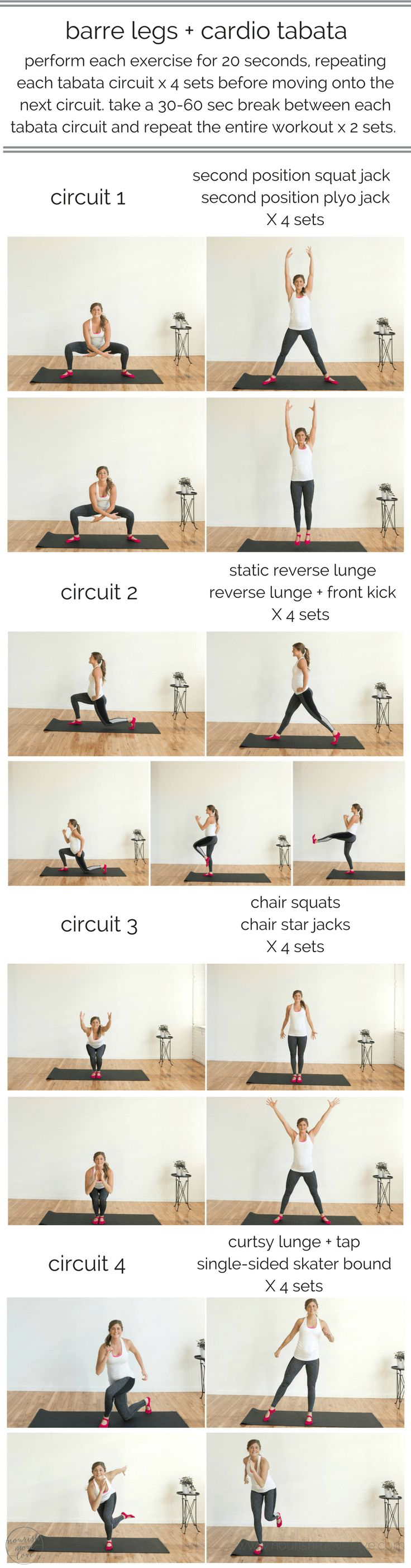 Best 25 barre at home workout ideas on pinterest at home barre legs cardio tabata hiit the barre at home 1betcityfo Choice Image